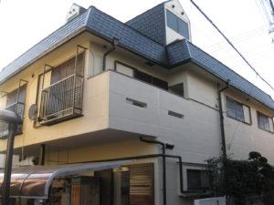 三島市 A様邸外壁・屋根塗装工事