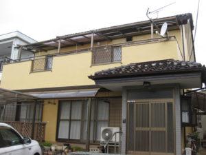 三島市 S様邸外壁塗装工事