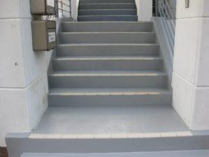 伊豆市修善寺 自治会階段塗装工事